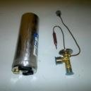 Front TX valve + reciever dryer