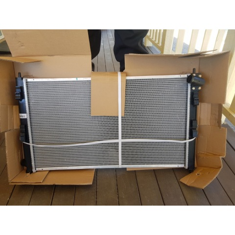 Delica D5 new radiator