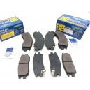 Front & Rear brake pads Transgold